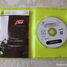 Videojuegos y Consolas: FORZA MOTORSPORT 3 XBOX 360. Lote 99201295