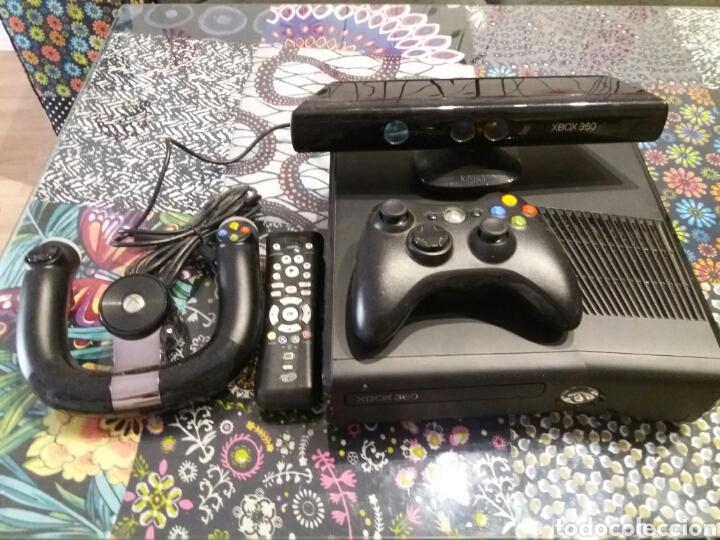 XBOX 360 250 GB + KINECT + MANDOS + JUEGOS (Juguetes - Videojuegos y Consolas - Microsoft - Xbox 360)