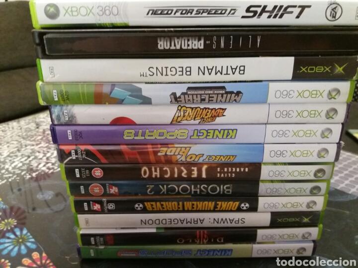 Videojuegos y Consolas: Xbox 360 250 GB + kinect + mandos + juegos - Foto 2 - 100231620