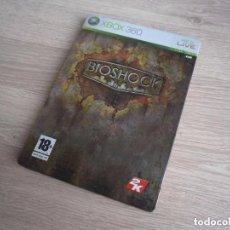 Videojuegos y Consolas: XBOX360 JUEGO BIOSHOCK CAJA METALICA VERSIÓN ESPAÑOLA. Lote 100409843