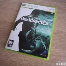 Videojuegos y Consolas: XBOX360 JUEGO DARKSECTOR. Lote 100410299