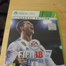 Videojuegos y Consolas: FIFA 18 PARA XBOX 360 CON CAJA E INSTRUCCIONES DISCO FÍSICO SIN USAR. Lote 101029647