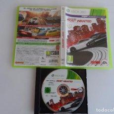 Videojuegos y Consolas: XBOX 360 NEED FOR SPEED MOST WANTED PAL ESP SIN INSTRUCCIONES. Lote 101077123