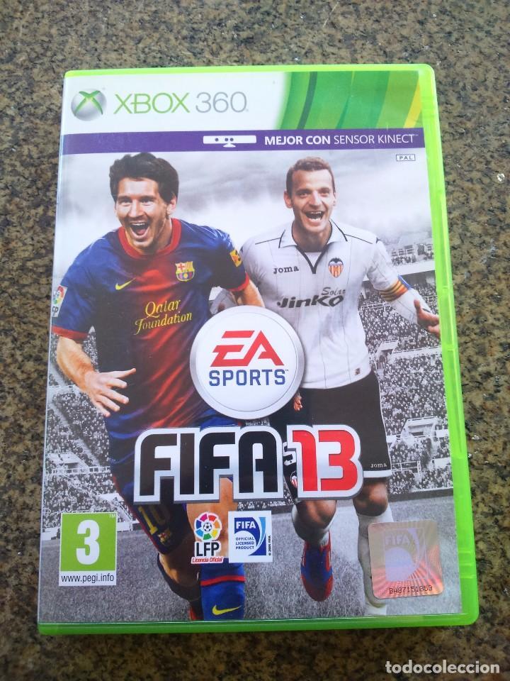JUEGO -- FIFA 13 -- XBOX 360 -- (Juguetes - Videojuegos y Consolas - Microsoft - Xbox 360)