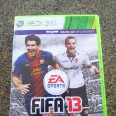 Videojuegos y Consolas: JUEGO -- FIFA 13 -- XBOX 360 --. Lote 101678635
