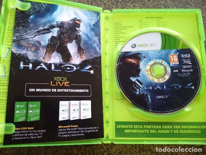 JUEGO -- HALO 4 -- DOS DISCOS -- XBOX 360 --
