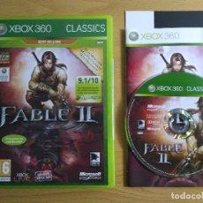 Videojuegos y Consolas: FABLE II XBOX 360. Lote 103406215