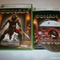Videojuegos y Consolas: CONAN XBOX 360 PAL. Lote 103563179
