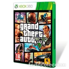 Videojuegos y Consolas: JUEGO GRAND THEFT AUTO V GTA 5 XBOX 360 PAL ESP (VER DESCRIPCIÓN). Lote 103890399