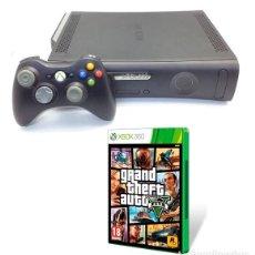 Videojuegos y Consolas: CONSOLA XBOX 360 ELITE 120 GB HDMI + JUEGO GTA V 5 (VER DESCRIPCIÓN). Lote 104105379