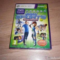 Videojuegos y Consolas: XBOX360 JUEGO KINECT SPORTS SEGUNDA TEMPORADA NUEVO VERSIÓN ESPAÑOLA. Lote 105860555