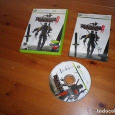 Videojuegos y Consolas: XBOX360 JUEGO NINJA GAIDEN II COMPLETO VERSIÓN ESPAÑOLA. Lote 105860839