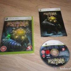 Videojuegos y Consolas: XBOX360 JUEGO BIOSHOCK2 RAPTURE EDITION PAL UK. Lote 105860887