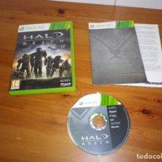Videojuegos y Consolas: XBOX360 JUEGO HALO REACH COMPLETO PAL UK (JUEGO EN ESPAÑOL). Lote 105862315