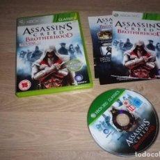 Videojuegos y Consolas: XBOX360 JUEGO ASSASSIN'S CREED LA HERMANDAD PAL. Lote 105863211