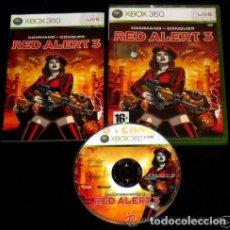 Videojuegos y Consolas: JUEGO XBOX 360 RED ALERT 3. Lote 105879691