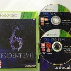 Videojuegos y Consolas: JUEGO XBOX 360 RESIDENT EVIL 6. Lote 105879883
