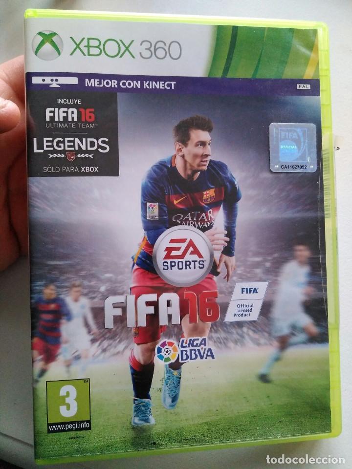 JUEGO XBOX 360 FIFA 2016 (Juguetes - Videojuegos y Consolas - Microsoft - Xbox 360)