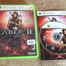 Videojuegos y Consolas: FABLE II 2 MICROSOFT XBOX 360 X360 KREATEN. Lote 107345263