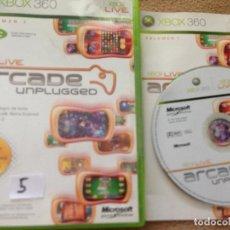 Videojuegos y Consolas: XBOX LIVE ARCADE UNPLUGGED X360 X-360 KREATEN. Lote 107431195