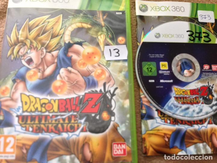 Dragon Ball Z Ultimate Tenkaichi Xbox 360 X360 Sold Through Direct Sale 107432779