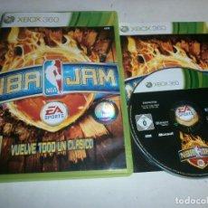 Videojuegos y Consolas: NBA JAM XBOX 360 PAL ESPAÑA COMPLETO. Lote 108059311