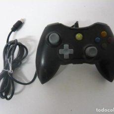 Videojuegos y Consolas: PAD ORIGINAL PARA XBOX 360 CON CABLE / FUNCIONA. Lote 108069815