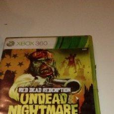 Videojuegos y Consolas: CAJ-261217 JUEGO XBOX 360 RED DEAD REDEMPTION UNDEAD NIGHTMARE. Lote 109112675