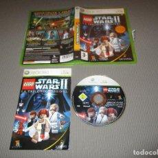 Videojuegos y Consolas: LEGO STAR WARS II ( LA TRILOGIA ORIGINAL ) - XBOX 360 - LUCASARTS. Lote 109864275