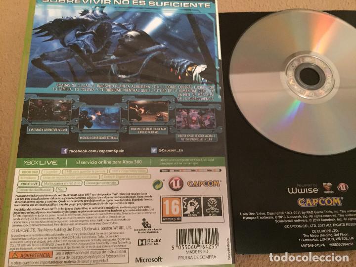 Videojuegos y Consolas: LOST PLANET 3 MICROSOFT XBOX 360 X360 X-360 KREATEN - Foto 2 - 109892999
