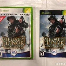 Videojuegos y Consolas: JUEGO XBOX 360 MEDAL OF HONOR FRONTLINE + MANUAL. Lote 110498467