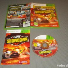 Videojuegos y Consolas: DIRT SHOWDOWN - XBOX 360 - PAL - CODEMASTERS RACING - ¿ RENDIRSE ? ¡ JAMAS !. Lote 110657563
