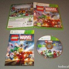 Videojuegos y Consolas: LEGO MARVEL SUPER HEROES - XBOX 360 - WARNER BROS GAMES. Lote 110659263