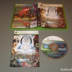 Videojuegos y Consolas: SACRED 2 ( FALLEN ANGEL ) - XBOX 360 - DEEP SILVER - ASCARON - ¡ DECIDE EL DESTINO DE ANCARIA !. Lote 110660263