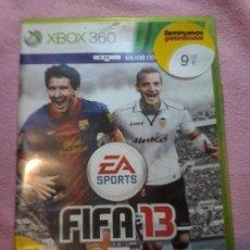 Videojuegos y Consolas: JUEGO FIFA 13 - XBOX 360 PAL . Lote 112025531