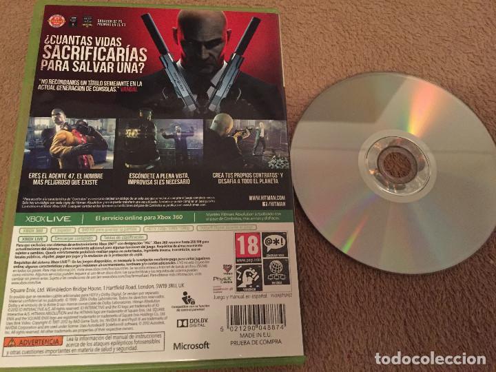 Videojuegos y Consolas: HITMAN ABSOLUTION XBOX 360 MICROSOFT X-360 X360 KREATEN - Foto 2 - 112176599