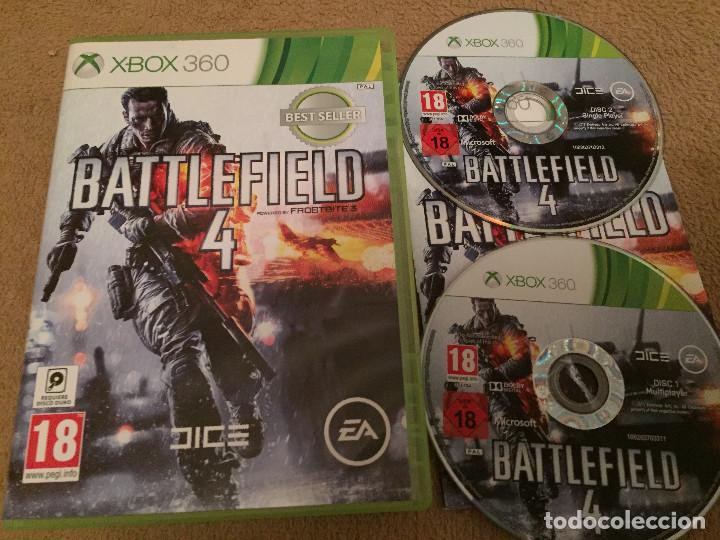 BATTLEFIELD 4 XBOX 360 X-360 X360 X-BOX 360 KREATEN BATTLE FIELD (Juguetes - Videojuegos y Consolas - Microsoft - Xbox 360)