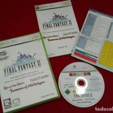 Videojuegos y Consolas: FINAL FANTASY XI PARA XBOX 360 CON 3 EXPANSIONES . Lote 112246375