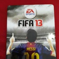 Videojuegos y Consolas: FIFA 13 PARA XBOX 360 CAJA METÁLICA EDICIÓN COLECCIONISTA. Lote 112248899