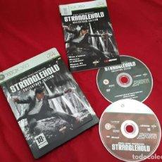 Videojuegos y Consolas: STRANGLEHOLD PARA XBOX 360 CAJA METÁLICA EDICIÓN COLECCIONISTA . Lote 112249475