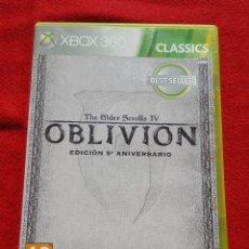 Videojuegos y Consolas: COLECCIÓN COMPLETA OBLIVION THE ELDER SCROLLS IV EDICIÓN 5º ANIVERSARIO PARA XBOX 360 (COMPLETO). Lote 112798979