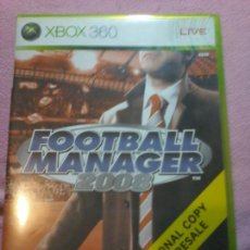 Videojuegos y Consolas: JUEGO FOOTBALL MANAGER 2008 MICROSOFT XBOX 360 PAL XBOX 360 XBOX360. Lote 113006735