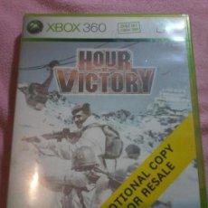 Videojuegos y Consolas: HOUR OF VICTORY· MICROSOFT XBOX 360 PAL XBOX 360 XBOX360. Lote 113007275
