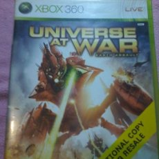 Videojuegos y Consolas: UNIVERSE AT WAR · MICROSOFT XBOX 360 PAL XBOX 360 XBOX360. Lote 113007843