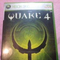 Videojuegos y Consolas: QUAKE 4 -SIN MANUAL UK· MICROSOFT XBOX 360 PAL XBOX 360 XBOX360. Lote 113008395