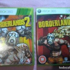 Videojuegos y Consolas: BORDERLANDS 1 Y 2 MICROSOFT XBOX-360 XBOX 360 PAL UK. Lote 113023947