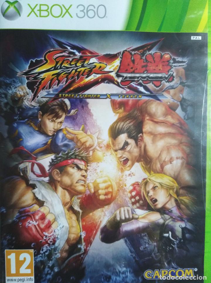 Street Fighter X Tekken Juego Para Xbox 360 N Comprar