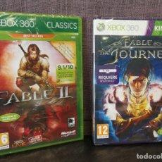 Videojuegos y Consolas: FABLE THE JOURNEY Y FABLE 2 XBOX 360 PRECINTADO . Lote 113076983