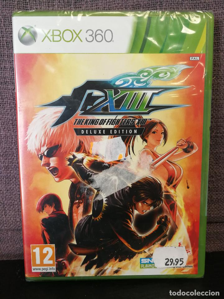 The King Of Fighter Xiii Xbox 360 Precintado Sold At Auction