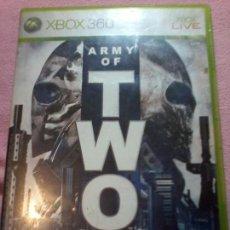 Videojuegos y Consolas: ARMY OF TWO - XBOX 360 XBOX360 PAL ESP SIN MANUAL. Lote 113126003
